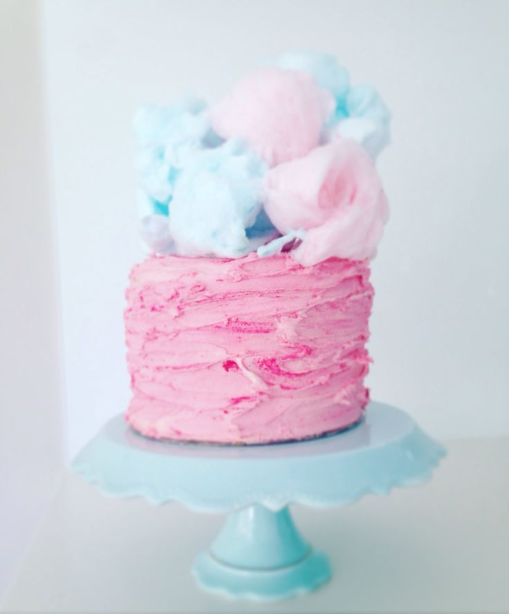 Fairy floss cake #oldschoolteslady