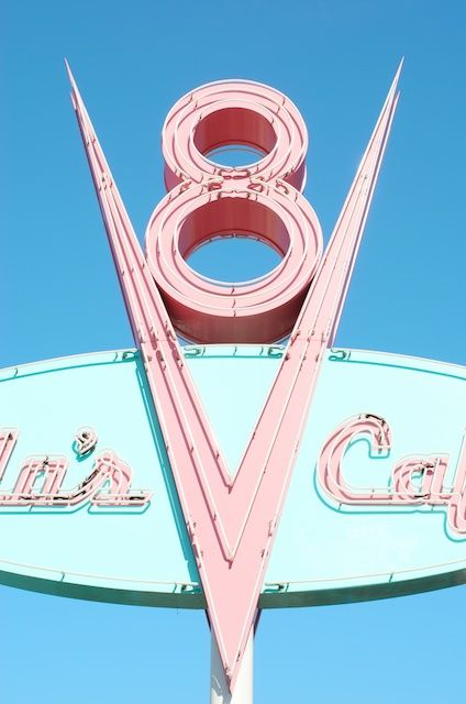 Flo's V8 Café | Cars Land | Disney California Adventure Park