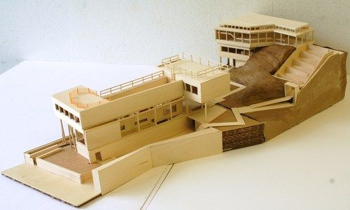rem koolhaas villa dall ava maqueta - Buscar con Google