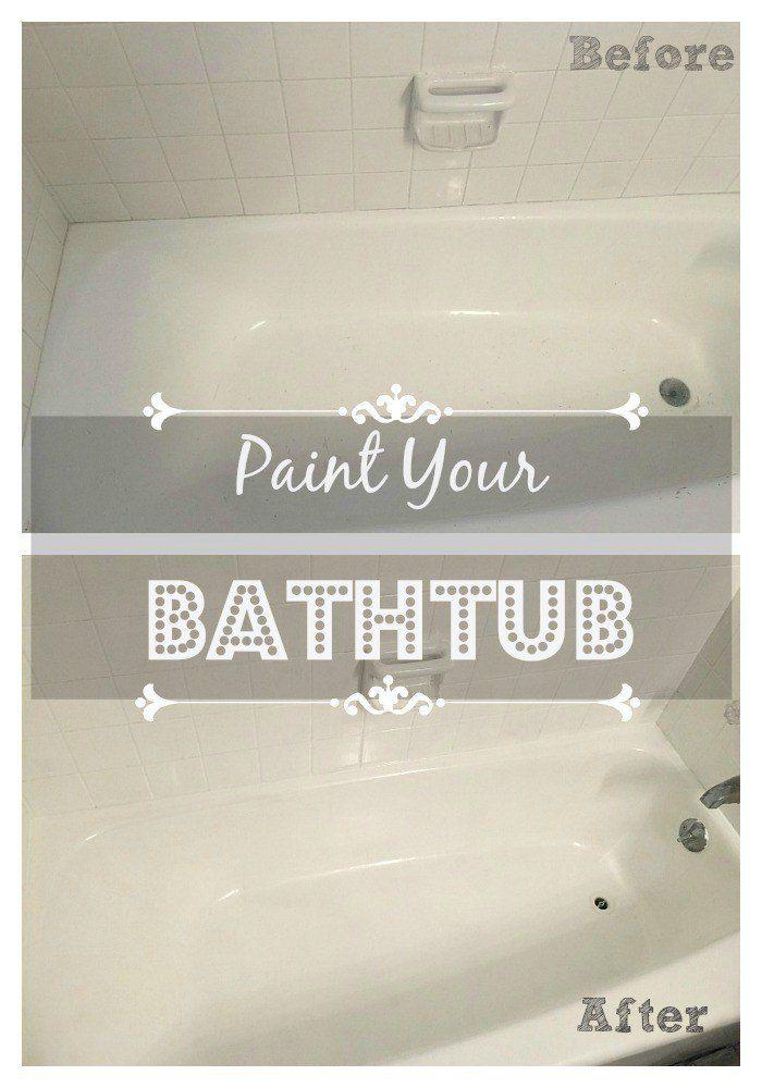 Paint Your Bathtub!