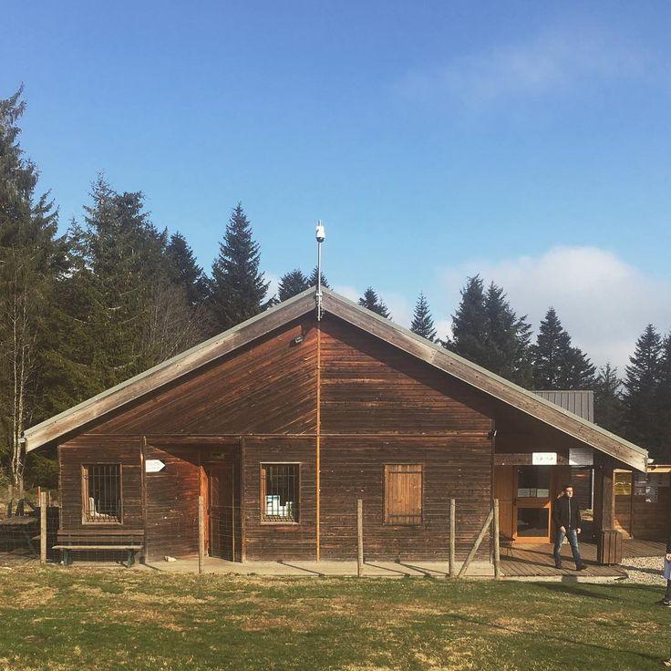 Visite au Col de la Loge ce matin pour lancer les études de réhabilitation et …