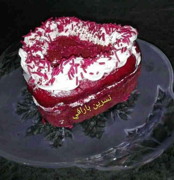 الكيكة المخملية والشكل والطعم رهيب زاكي Recipe Food Desserts Cake
