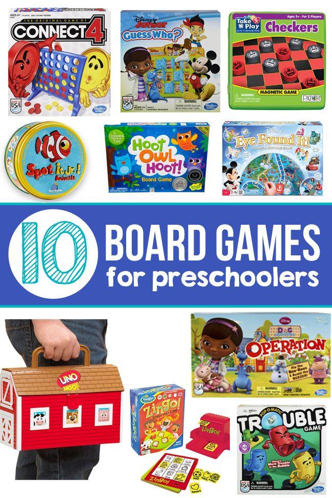 10 of The Best Board Games for Preschoolers Preschool