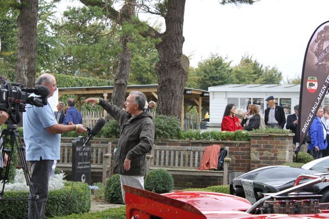 Bruno Giacomelli at Goodwood