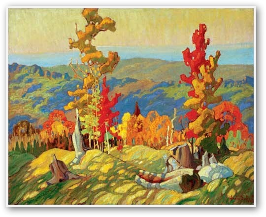 Franklin Carmichael  Autumn In The Northland