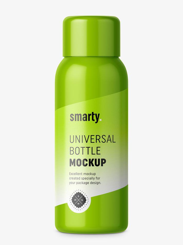 30 ml bottle mockup / white