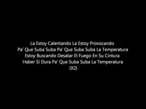 La Temperatura Maluma Ft Eli Palacios Letra - YouTube