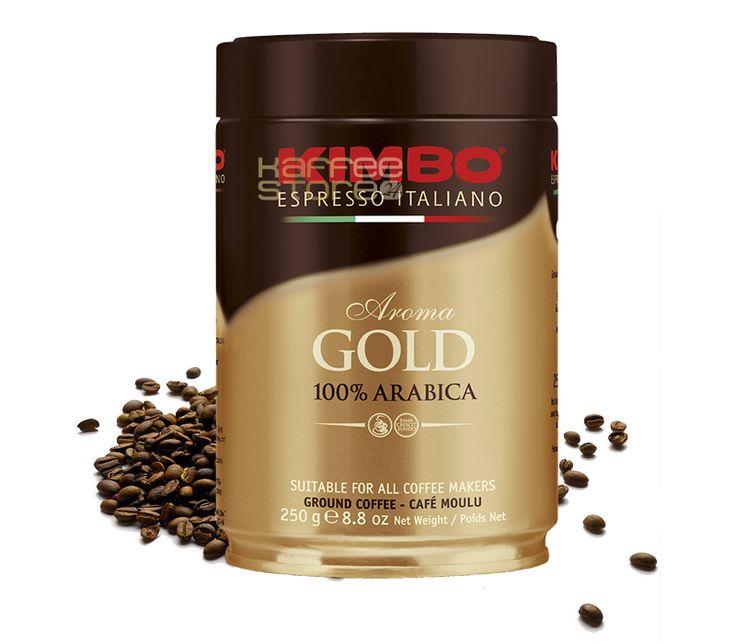 Neu im KaffeeSHop - Kimbo Kaffee