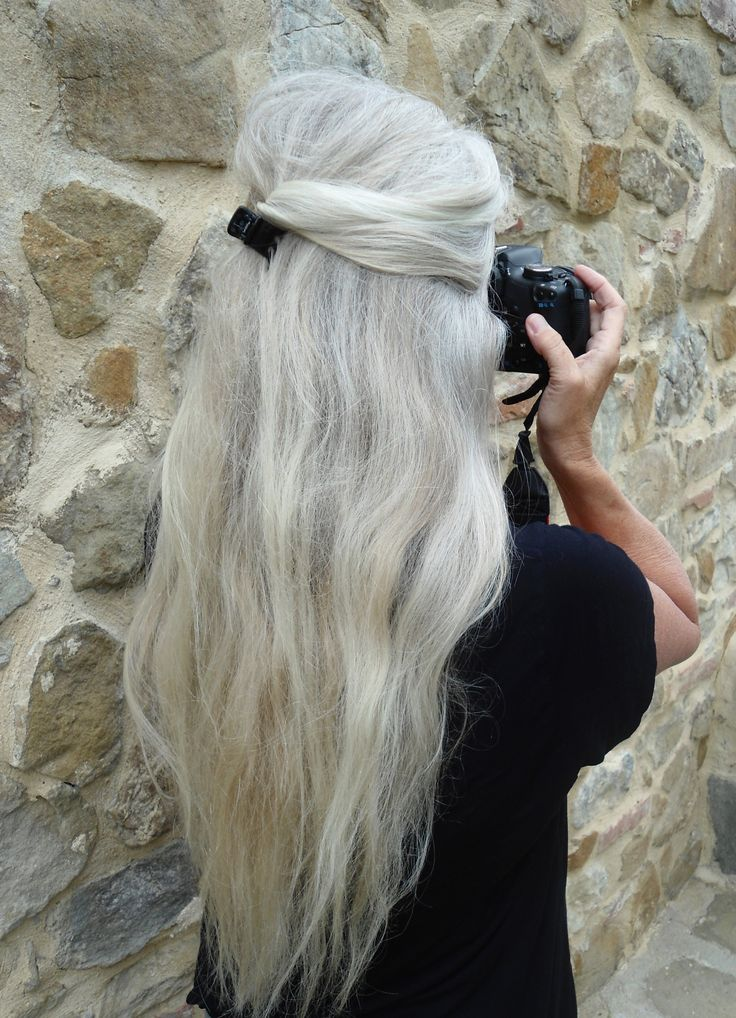 Long, Thick and Naturally Beautiful Hair. My hair will be like this when I'm older.