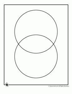 2 circle and 3 circle venn diagram blank 231x300 Printable Blank Venn Diagrams
