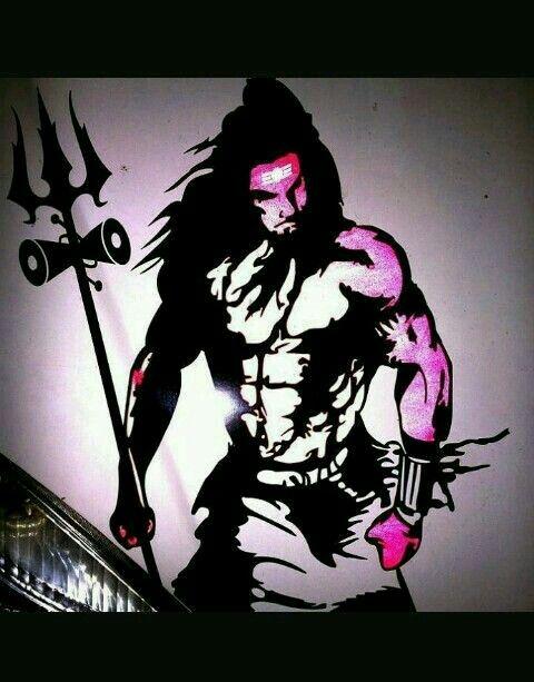 Idea by Swati Bhalerao on Mahakaal | Lord shiva painting ...