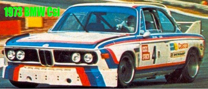 1973 2 wins on BMW Csi - at same time engaged at Sportscar World Championship  Ferrari vice champion