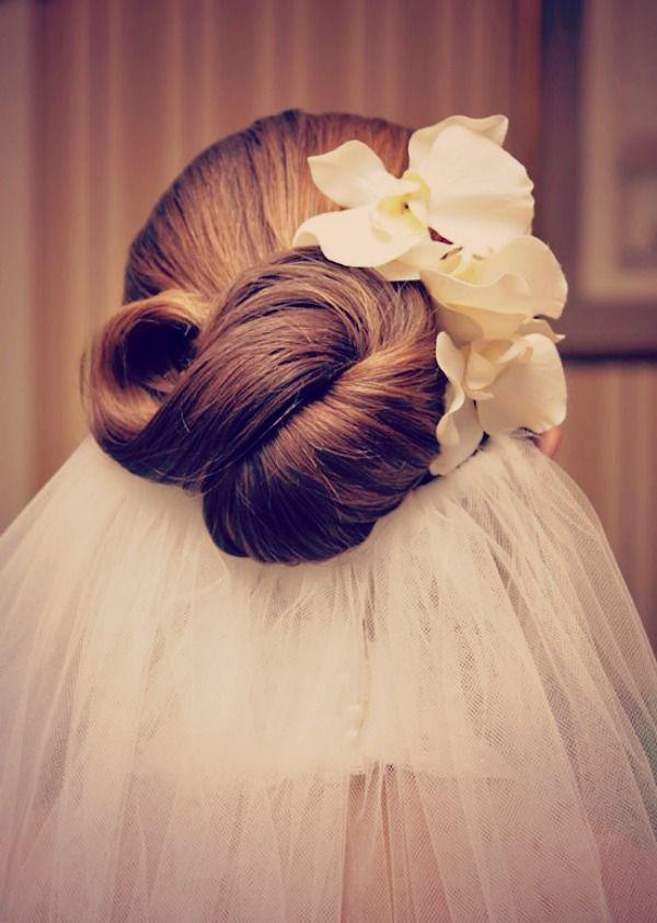 La inspiración de la boda del pelo; El Nudo Infinito - Boda Blog Reflexiones nupcial