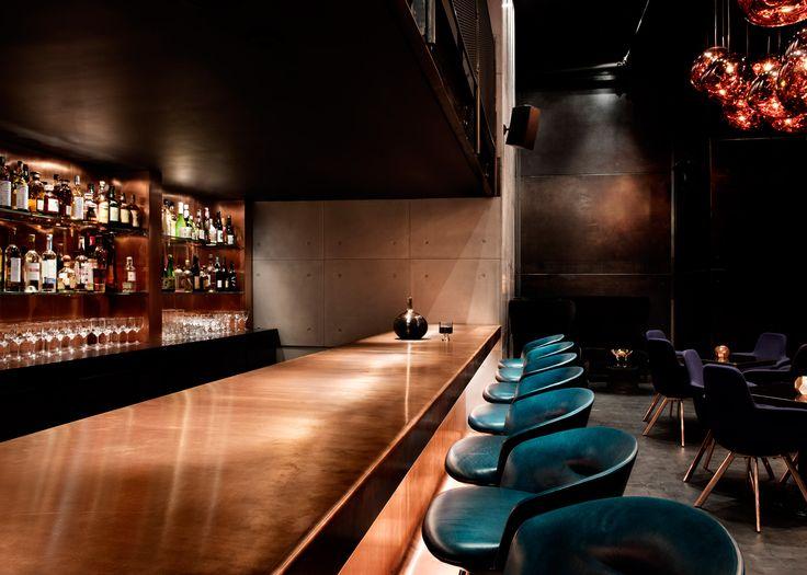 Tom Dixon Designs Darkly Theatrical Himitsu Cocktail Lounge