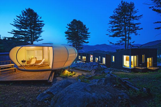 Glamping on the Rock by ArchiWorkshop   Detached houses