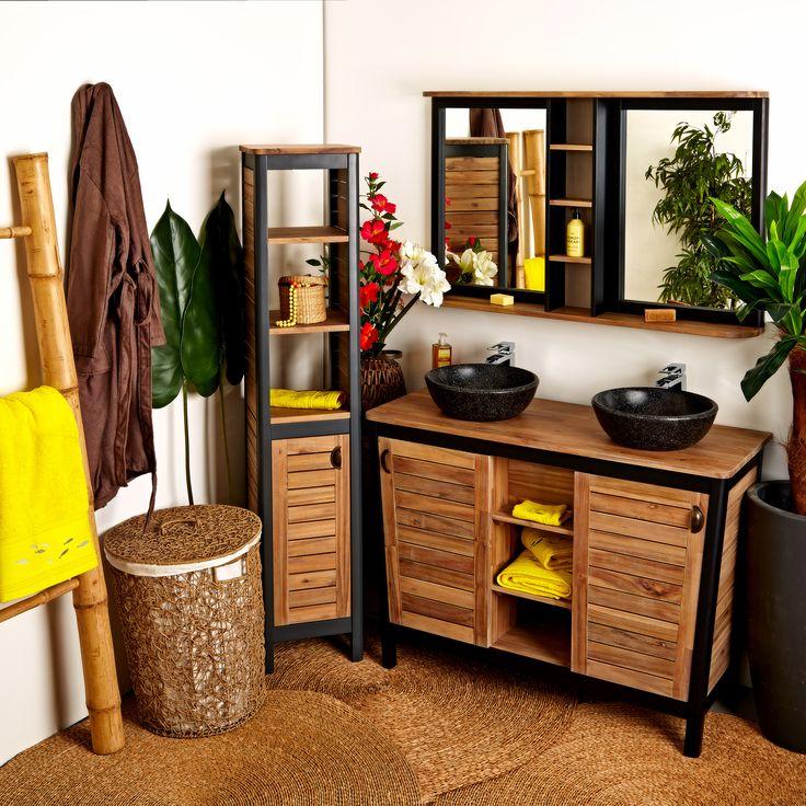 Les 64 meilleures images du tableau salle de bain sur pinterest - Alinea meuble salle de bain ...