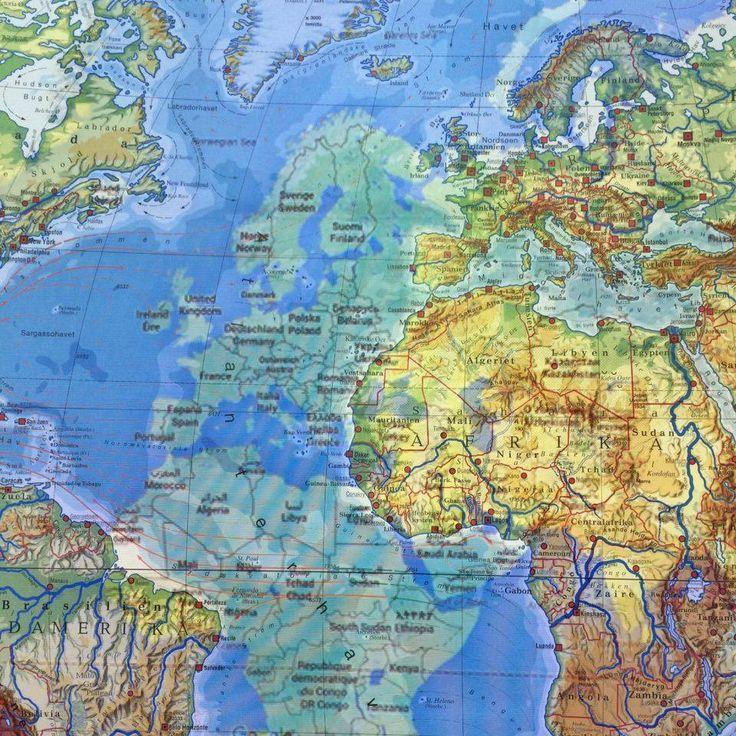 Google Maps vs. et gammelt kort