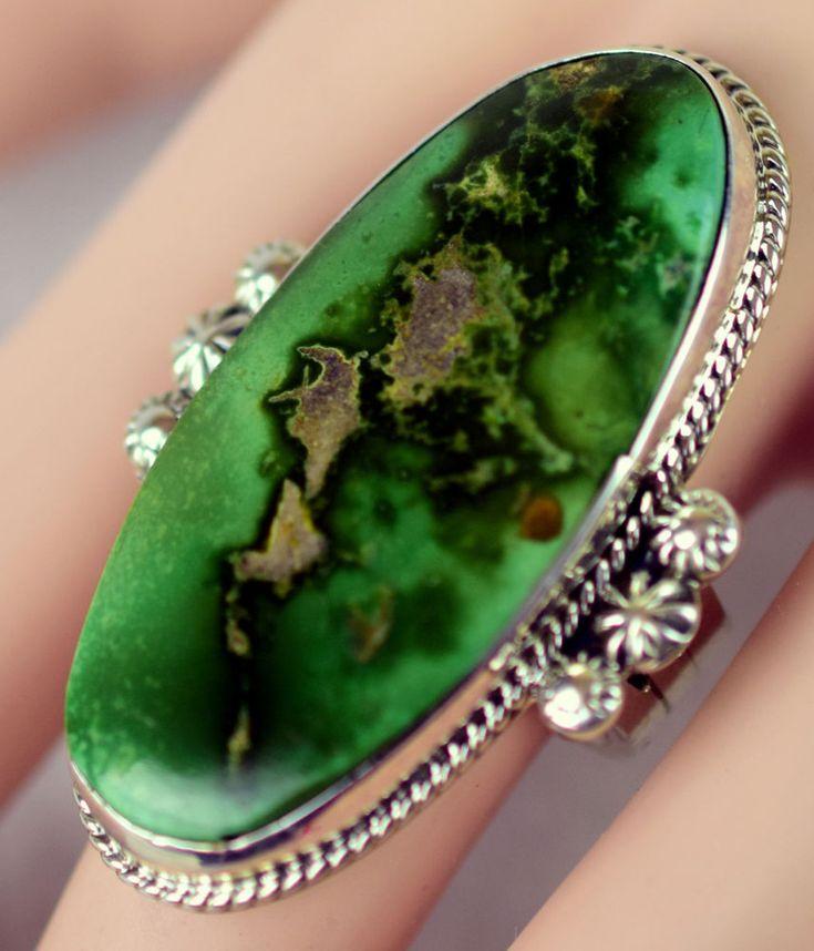 Resultado de imagen para turquoise green rings