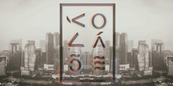 """Logo of band """"KOLASE"""""""