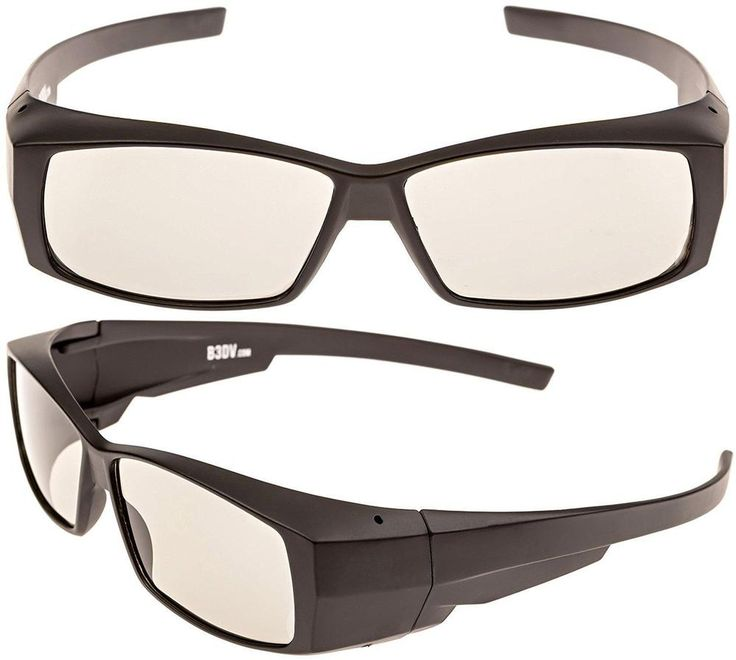 Better quality passive 3D glasses for Vizio and all Passive TVs RealD Cinema... #Better3DView