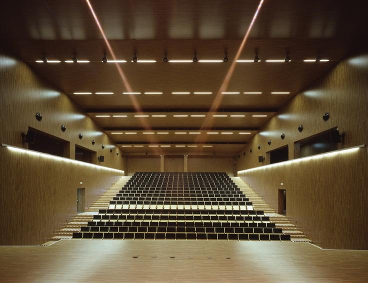 Mobiliario interiorismo materiales conservatorio musica - Conservatorio musica bilbao ...
