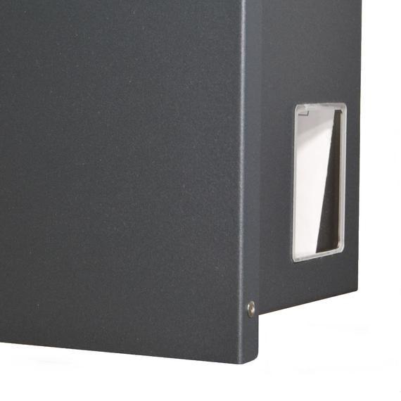 Modern Residental Mailbox Grey Steel Mailbox Con Immagini