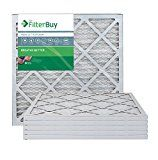 AFB Platinum MERV 13 20x20x1 Pleated AC Furnace Air Filter. Pack of 6 Filters. 100% produced in the USA.