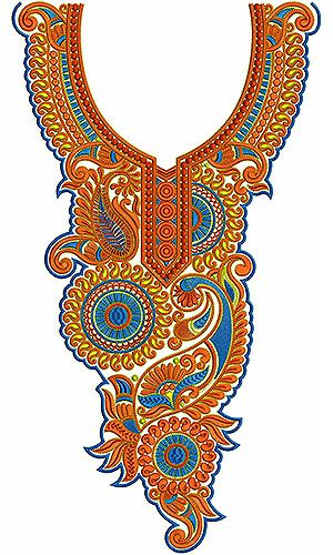 Latest Arrival Eye Catching Embroidery Design