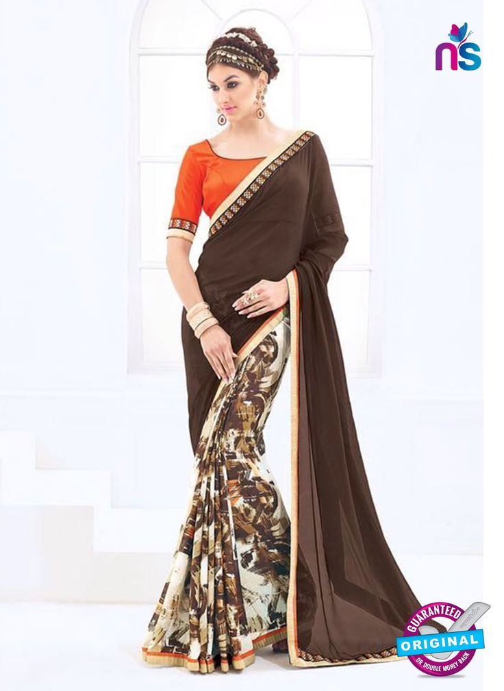 Become talk of the city by adorning this gorgeous saree...