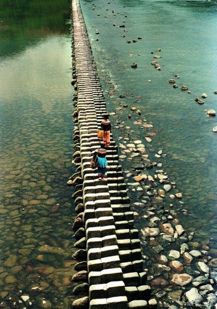 Piano bridge. Wenzhou, Zhejiang, China