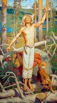 A.Gallen-Kallela / Kullervo / 1899 of artist Akseli Gallen-Kallela, 1865-1931,