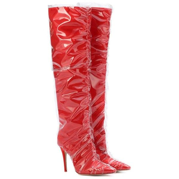 Jimmy Choo X Off-White Elisabeth 100 Satin Boots ($1,580) ❤ liked on Polyvore featuring shoes, boots, red, champagne shoes, red shoes, vintage white shoes, champagne satin shoes and red satin shoes