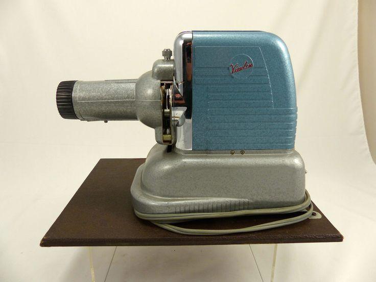 Vintage viewlex slide projector model v 33 serial number 33 47927 with baja case movie - Fax caser bajas ...