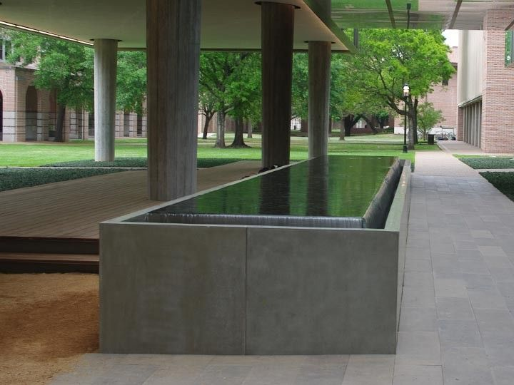 Bon Concrete Water Feature By John Newbold, Austin, Texas, Best D FRC 2012