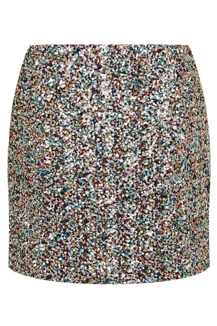 **Sunlight Sequins Skirt by Jovonna