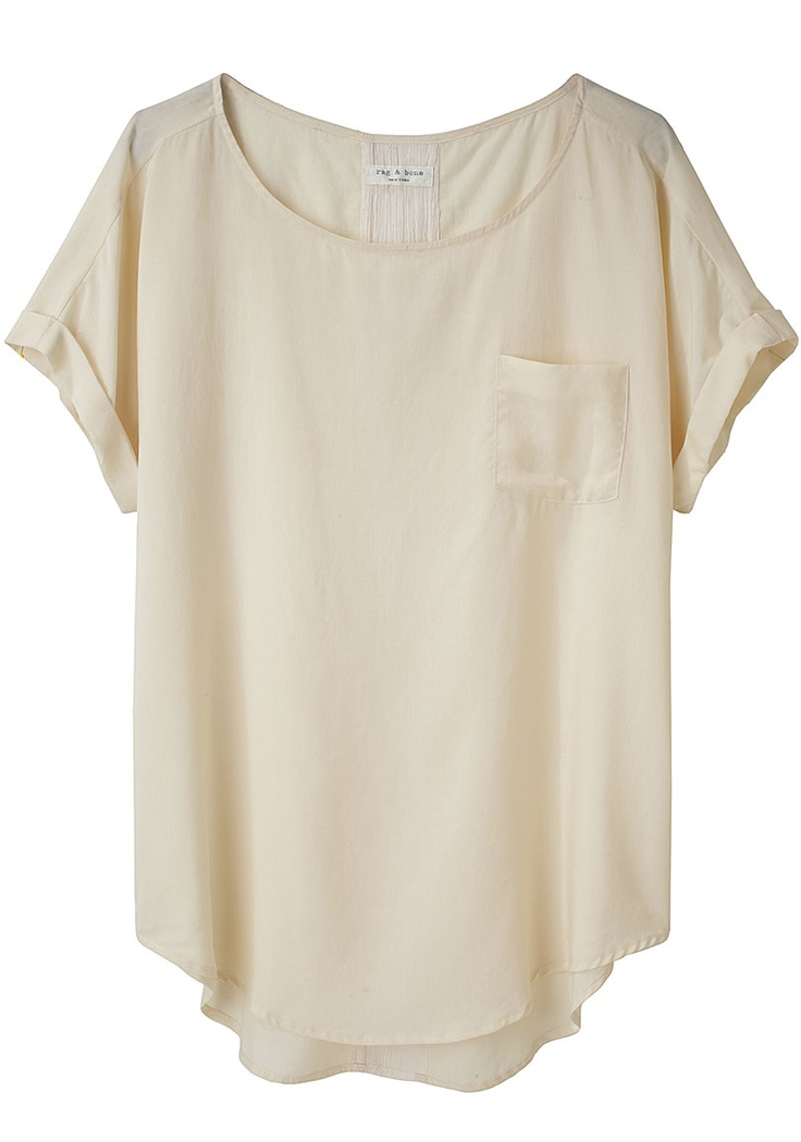 : Simple Style Clothing Summer, Marisfeld Tees, Cute Tops, Comfy Summer Shirts, Simple Tees, Rag And Bones, Silk Shirts, Summer Clothing, Summer Tops