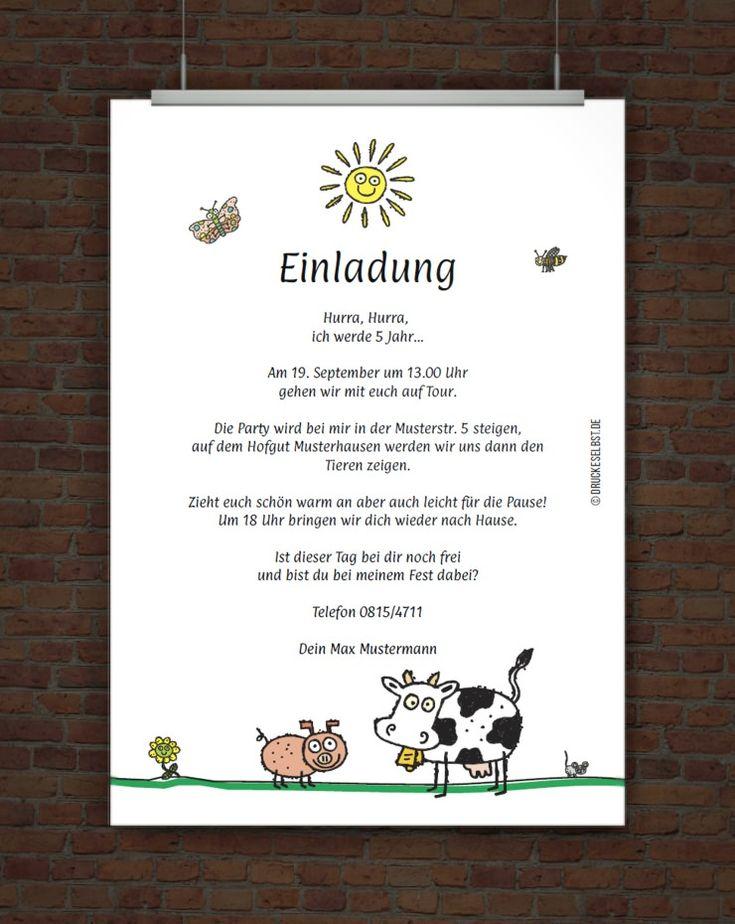 spruch einladung kindergeburtstag – sleepwells, Einladungsentwurf
