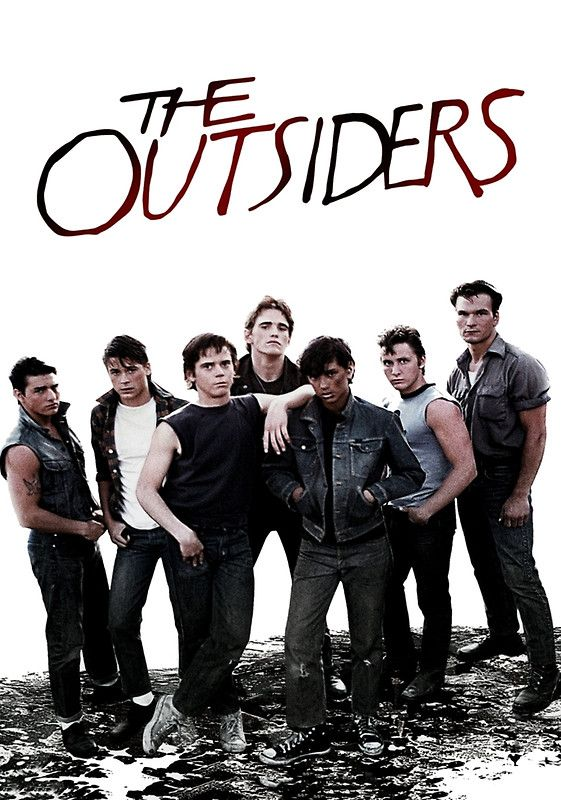 the portrayal of teenagers in the movie outsiders