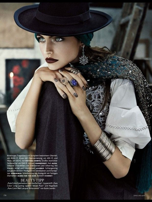 cool Vogue Alemanha | Editorial de Moda Maio 2013 | Karlina Caune
