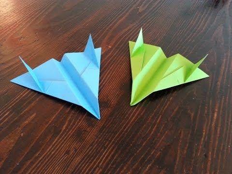 F-15 Eagle Papierflieger new Bauanleitung - YouTube