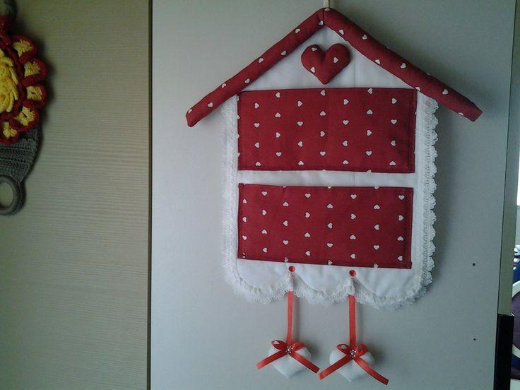 Porta lettere da parete fatto a mano stile shabby, by krison, 15,00 € su misshobby.com