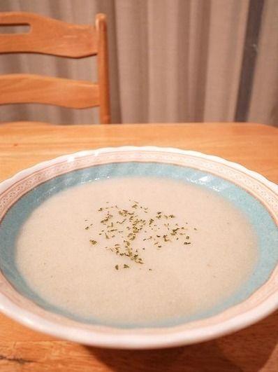 手作り豆乳で作る、豆乳ごぼうスープ|元祖フォーチュンクッキー「辻占 ...
