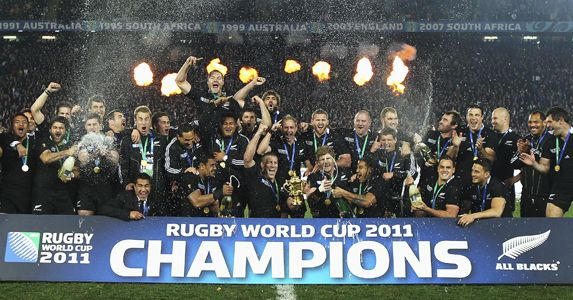 2011 Rugby World Cup Champions