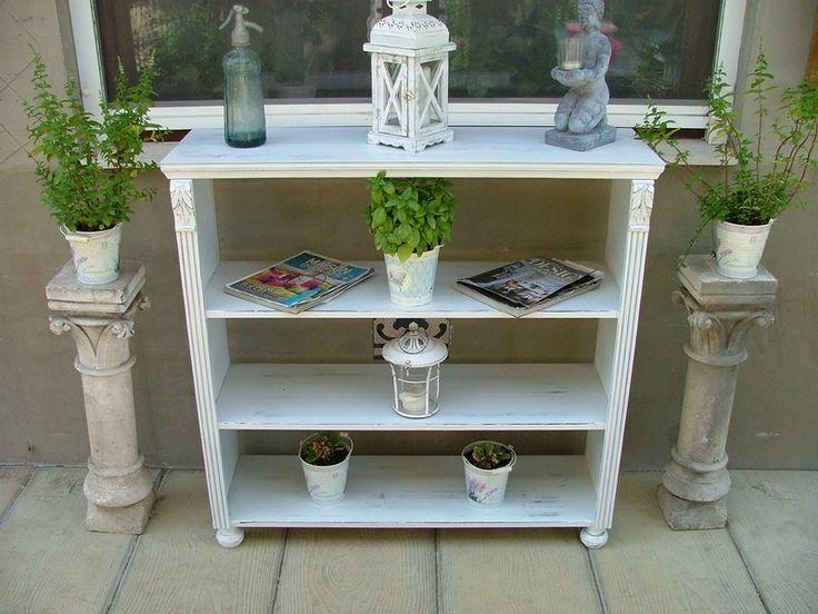www.richterantik.hu Provence furniture, cabinet, bookcase