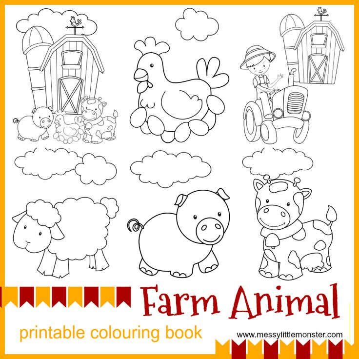 farm animal printable colouring pages en 2018 weston play time at grandmas pinterest. Black Bedroom Furniture Sets. Home Design Ideas