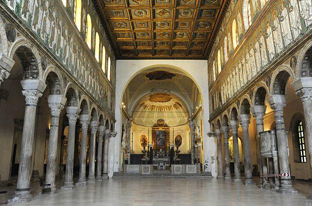 "Basilica of Sant' Apollinare Nuovo - ""The exquisite Ravenna mosaics"" by @Kathryn Burrington"
