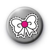 Sweet Bow Button Badge  Button Badge £0.85