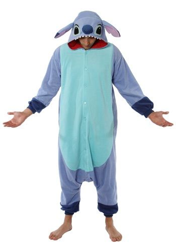 When you follow Lilo around in this Stitch pajama costume people will totally think you're just a funny looking dog. Just don't do anything suspicious around Nani and her boyfriend or you'll get caught.