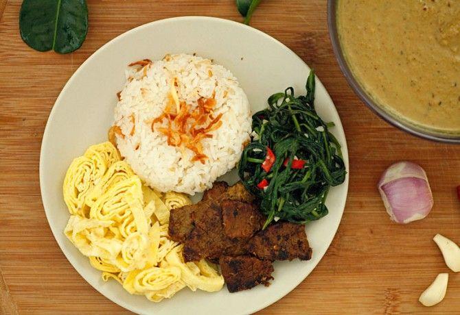 Indonéz vacsora