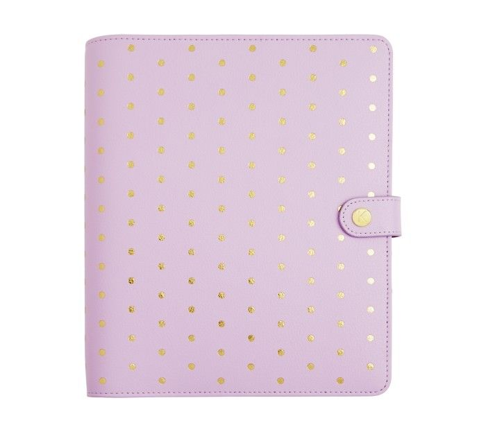 LIMITED EDITION LEATHER PERSONAL PLANNER LARGE: LILAC - Kikki K - $89.95